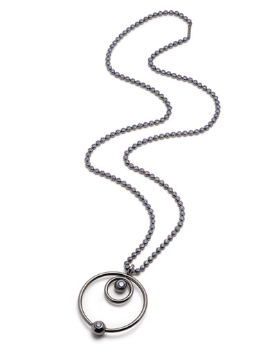 Voyager Concentric Pendant Necklace