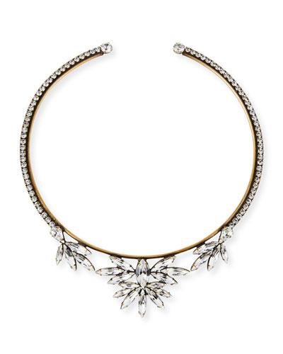 Emma Crystal Collar Necklace