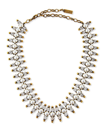 Holloway Pearly Bead Necklace