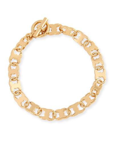 Gemini Link Chain Bracelet