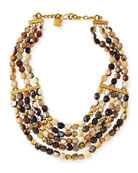 "Kubwa Multi-Strand Necklace, 21""L"