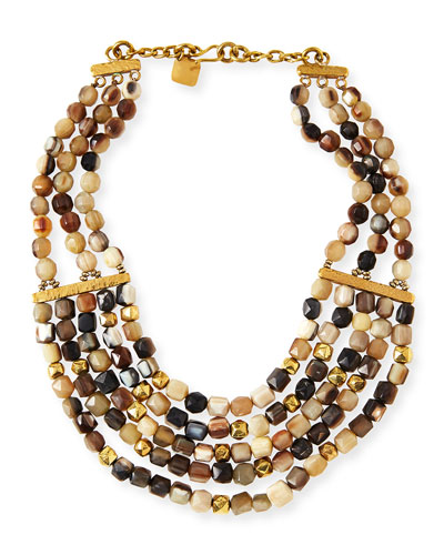 Kubwa Multi-Strand Necklace, 21