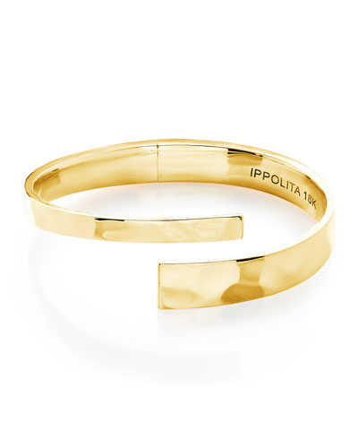 18K Senso&#153 Hinge Bypass Bracelet