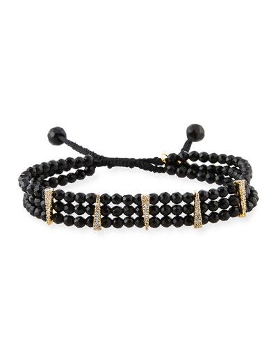 Beaded Bracelet, Black