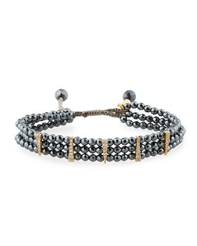 Beaded Bracelet, Hematite