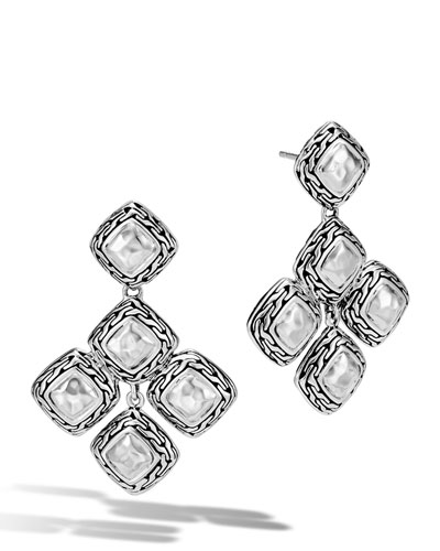Classic Chain Heritage Quadrangle Earrings