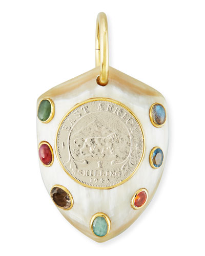 Mpenzi Light Horn, Coin & Gem Pendant Enhancer