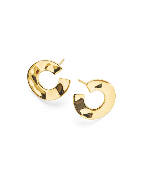 Ippolita 18K Senso&#153 Open Wavy Disc Earrings