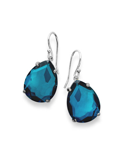 925 Rock Candy Wonderland Pear Drop Earrings in Frost