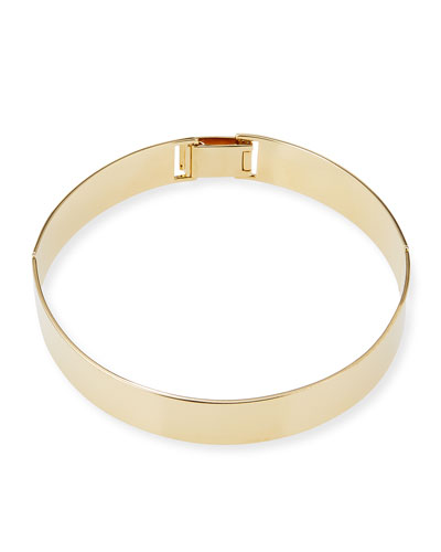 14K Gold-Plated Choker Necklace