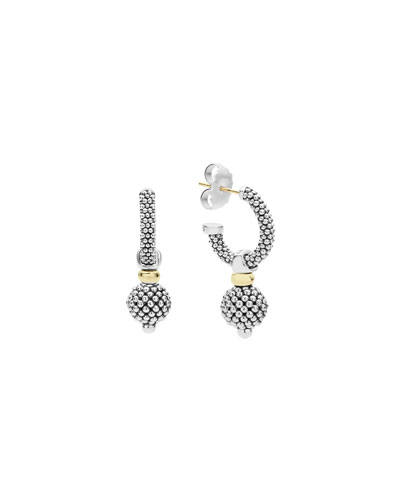 Caviar Small Hoop Earrings