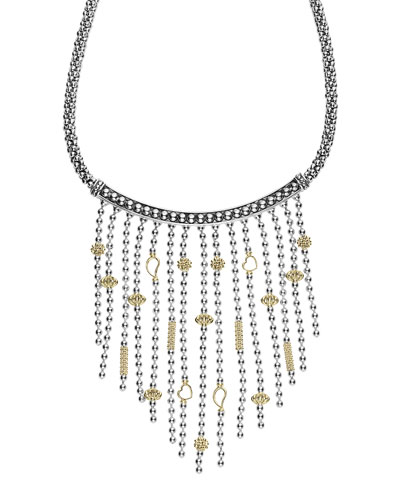 Caviar Icon Multi-Strand Necklace