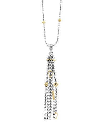 Caiar Icon Tassel Pendant Necklace