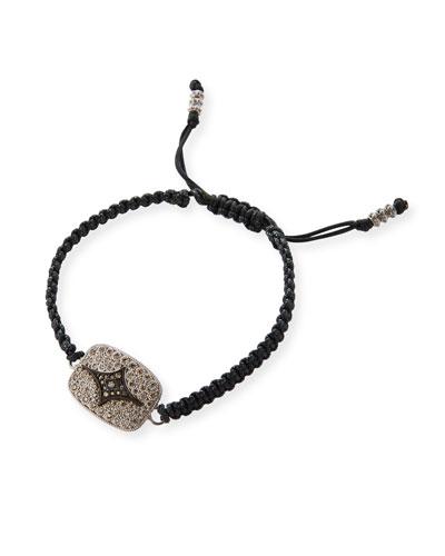 Armenta New World White Bone Bead Bracelet w/Diamonds VNqmf2xN
