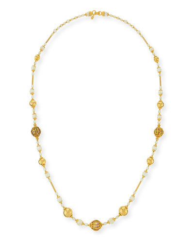 Beaded One-Strand Necklace