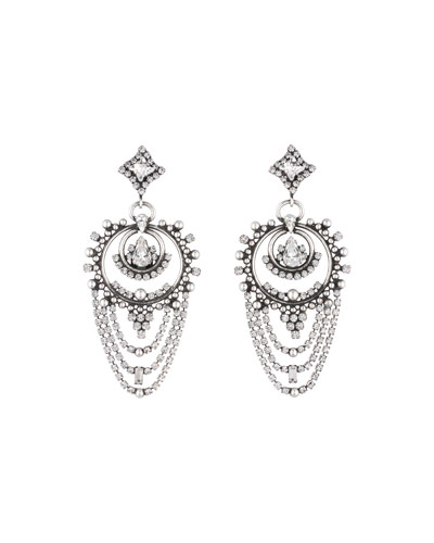 Rosalie Crystal Statement Earrings