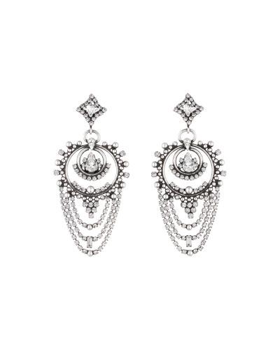 Rosalie Crystal Statement Earrings