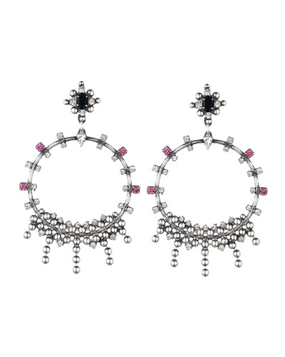 Lauren Crystal Statement Earrings