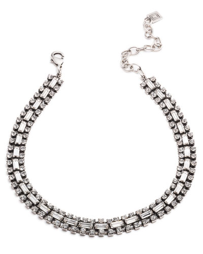 Jihan Crystal Choker Necklace