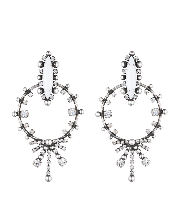 Anja Crystal Statement Earrings