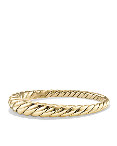 9.5mm Pure Form Large Cable Bracelet in 18K Gold