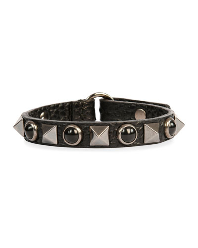 Valentino Mens Rockstud Rolling Bracelet ssQNNUT3G