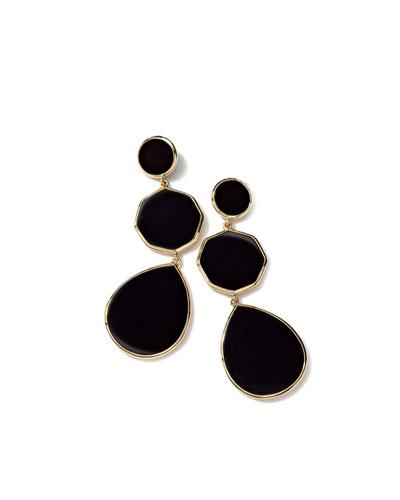 18k Gelato Crazy-Eight Earrings
