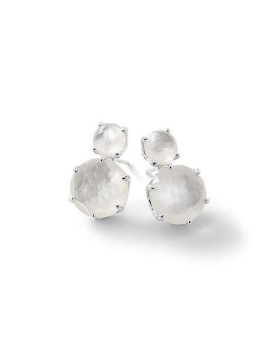 Rock Candy® Two-Doublet Earrings in Clear Quartz Doublet