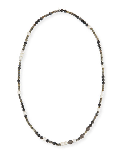 Savannah Beaded Necklace, 43