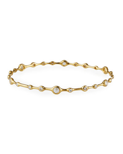 Stardust Superstar 18K Gold 24-Diamond Bangle