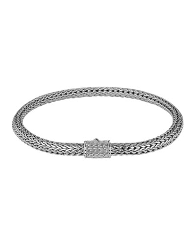 Classic Chain Silver Extra-Small Bracelet