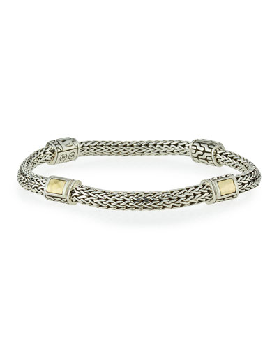 Medium Classic Chain Four-Station Bracelet