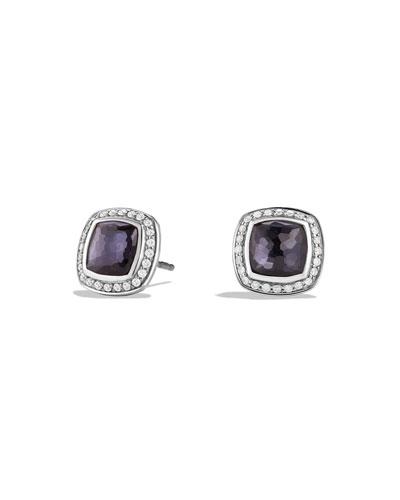 Albion Stud Earrings with Diamonds