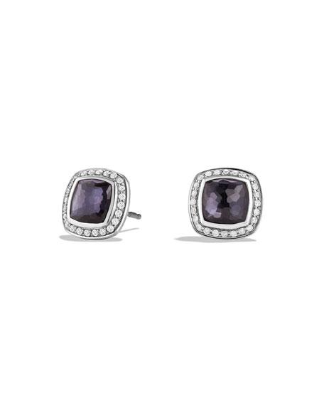 David Yurman Albion Stud Earrings with Diamonds