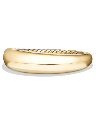 17mm Pure Form Bracelet in 18K Yellow Gold, Size M