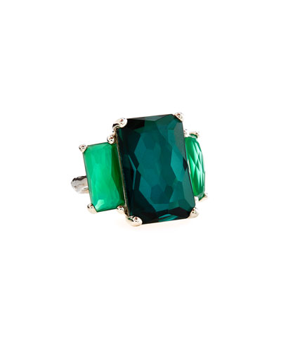 Rock Candy 3-Stone Ring