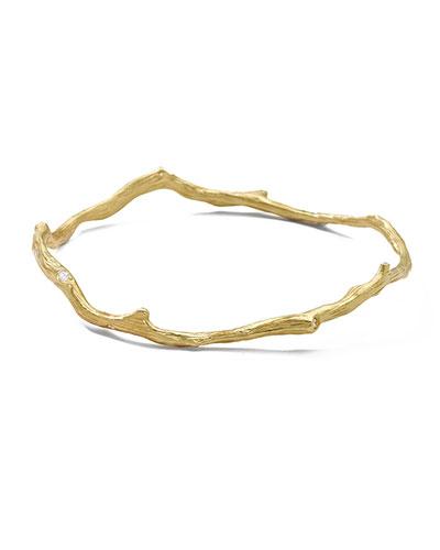 Ippolita 18k Gold Diamond Bracelet