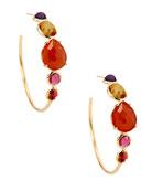 18K Rock Candy Gelato #3 Hoop Earrings in Cranbury