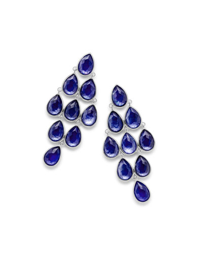 Rock Candy® Cascade Earrings in Royal