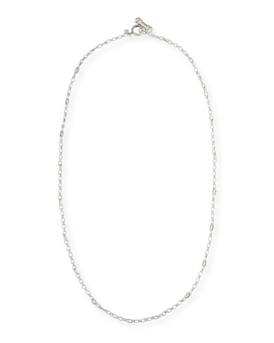 New World Cable Toggle Necklace