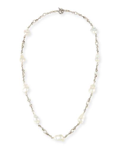 Baroque Pearl Necklace, 37