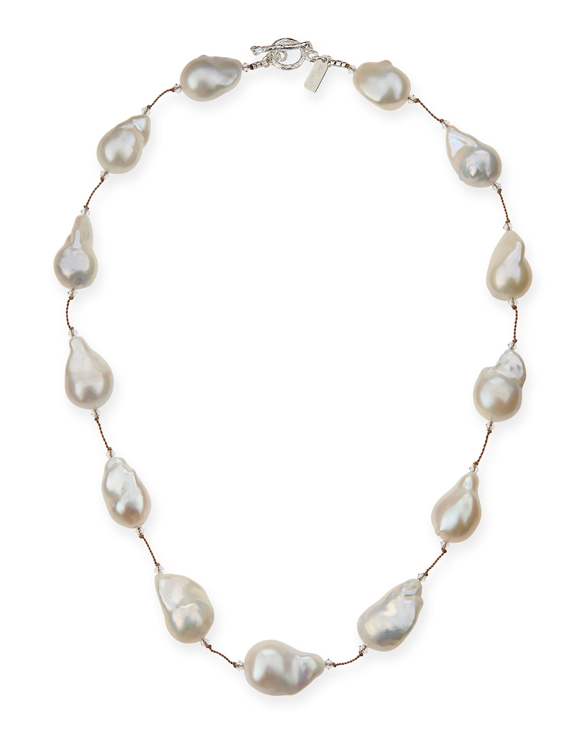 Large Baroque Pearl Necklace, 20