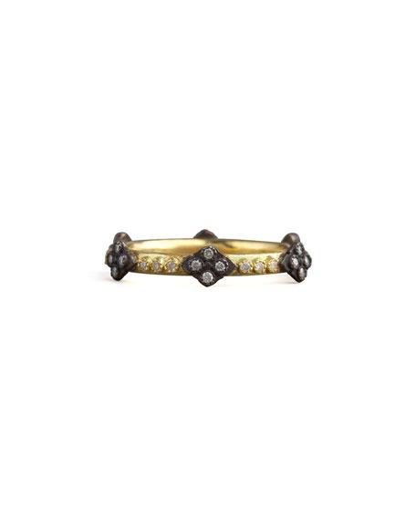 Armenta Old World Crivelli Cross Diamond Ring, Size 5.5-7.5