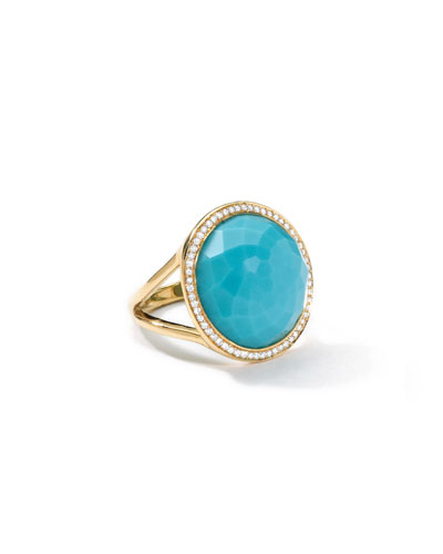 Small Round Lollipop Ring