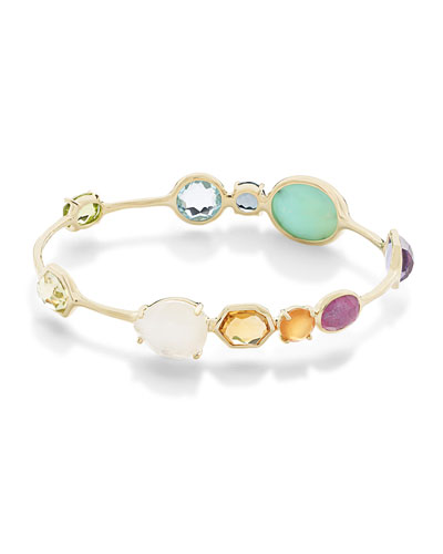 18K Rock Candy® Gelato Station Bangle in Summer Rainbow