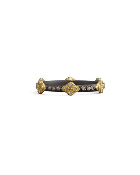 Armenta Old World Crivelli Cross Diamond Ring, Size 5.5-8