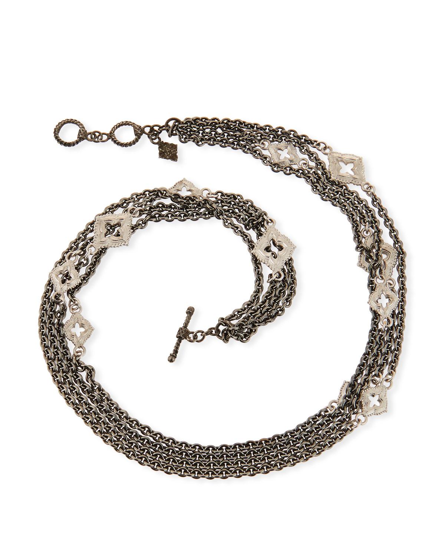 New World Double-Wrap Chain Bracelet