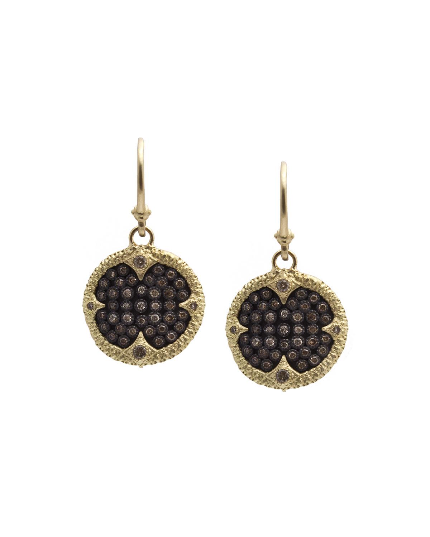 Old World Ombre Diamond Drop Earrings