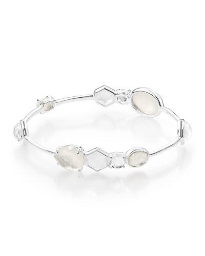 925 Rock Candy 10-Stone Bangle Bracelet in Flirt