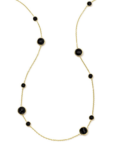 18K Rock Candy Lollipop Necklace, 37